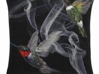 Alexander mcqueen hummingbird cushion, soft furnishings, Marbella