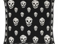 Alexander mcqueen skull black cushion, soft furnishings, Marbella
