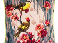 Paul Smith birdie blossom cushion, soft furnishings, Marbella