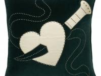 Tara Bernerd tattoo dagger heart cushion, soft furnishings, Marbella