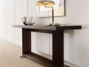 Monaco console walnut - available in Marbella