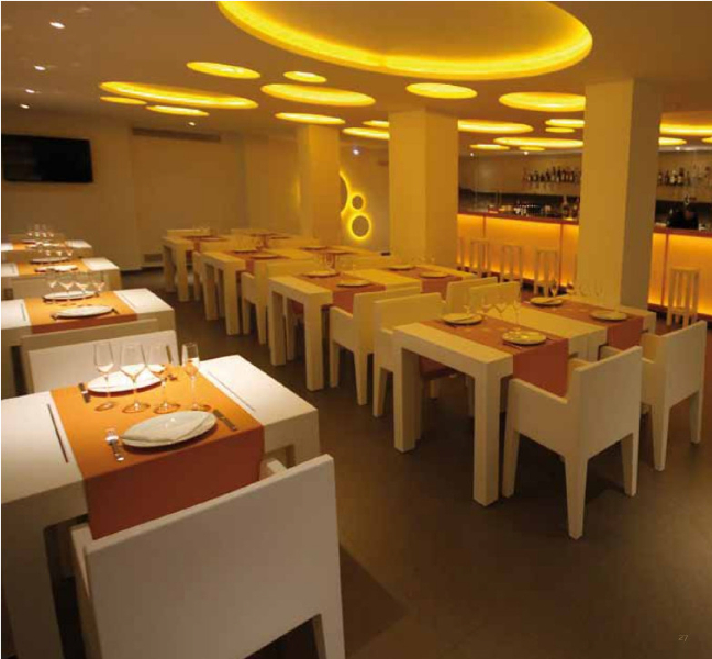 Interior Design Marbella MODERN CONTRACT FURNITURE MARBELLA - Modern restaurant furniture