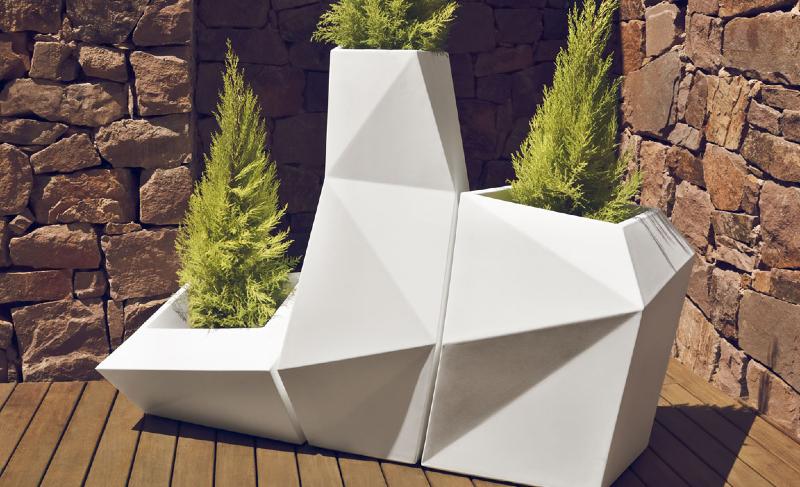 Interior Design Marbella Modern Flower Pots