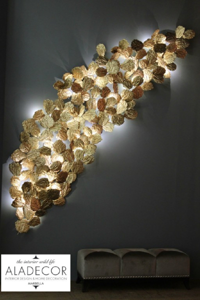 Interior Design Marbella Organic Wall Lighting