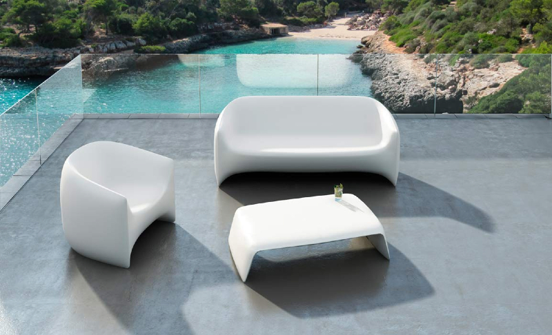 Interior design marbella modern designer outdoor furniture for Modern patio furniture