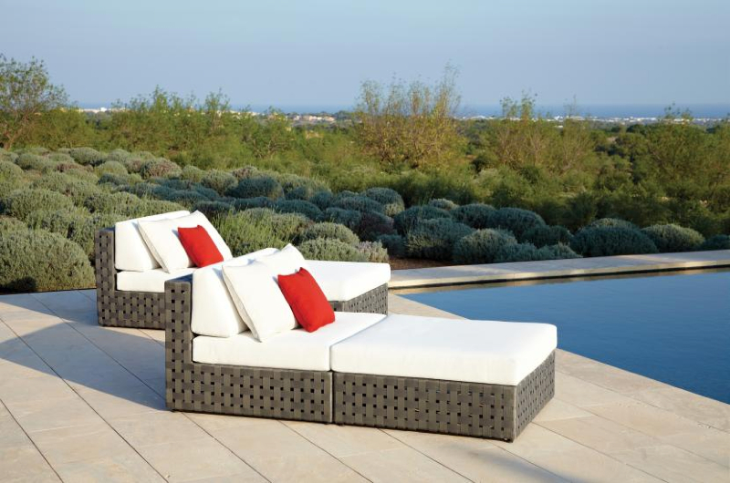 Interior Design Marbella DESIGNER SUNBEDS MARBELLA Gorgeous Outdoor Designer Furniture