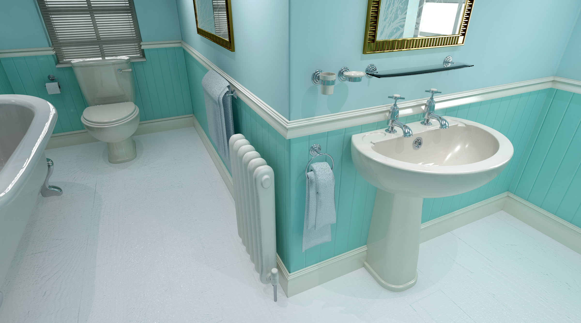 Interior design marbella contemporary bathroom for Bathroom design 3d