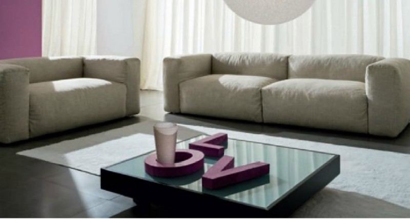 Interior Design Marbella Fluffy Sofa