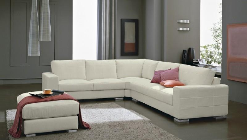 Interior design marbella white corner sofa for Sofa exterior marbella