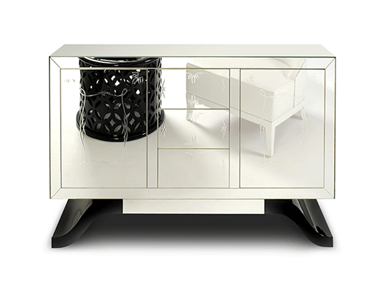 mirrored-sideboard-marbella