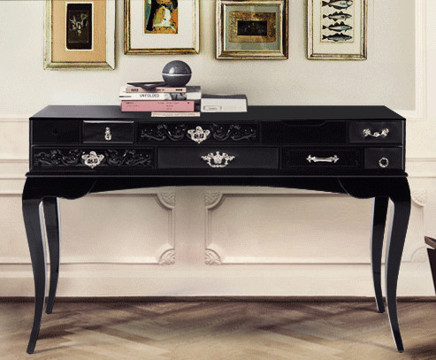 interior design marbella contemporary console tables. Black Bedroom Furniture Sets. Home Design Ideas