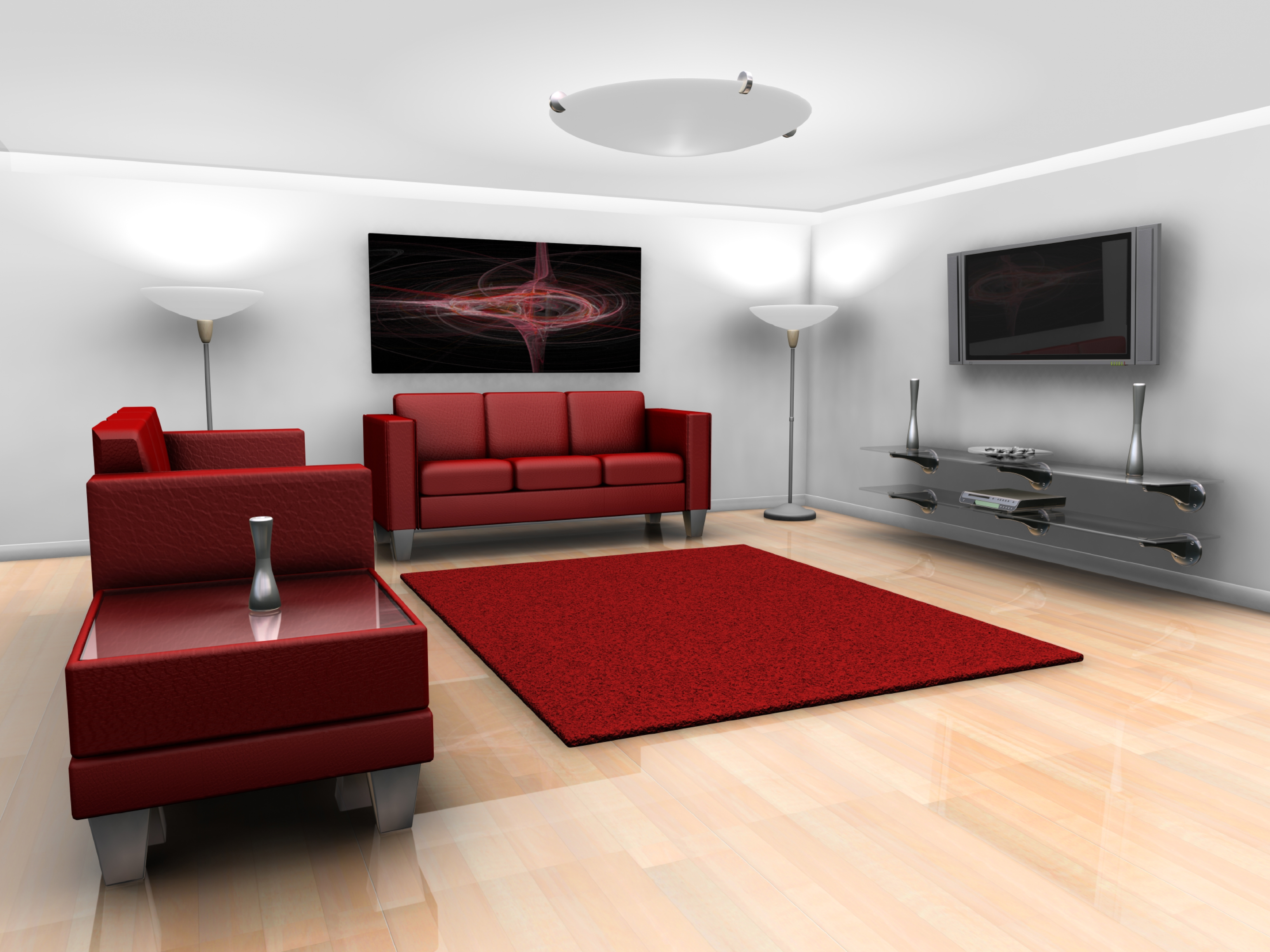 Interior Design Marbella 3d Design Of A Living Room