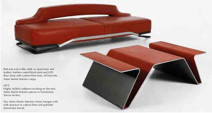 Aston Martin Furniture Aladecor