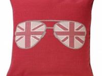 Tara Bernerd miss shady pink cushion, soft furnishings, Marbella