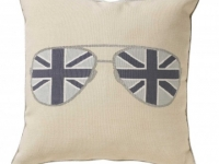 Tara Bernerd miss shady white cushion, soft furnishings, Marbella