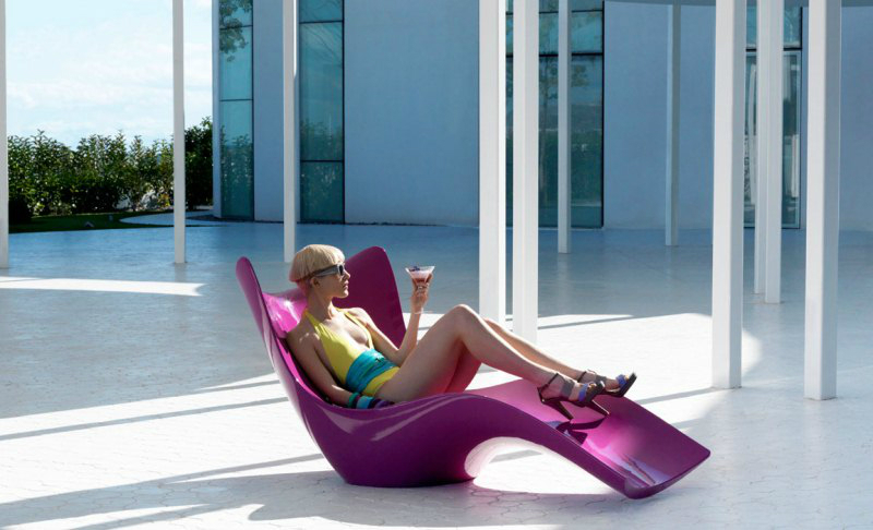 modern designer outdoor furniture